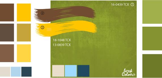 Оливково-зеленый цвет и сочетание с ним | Зеленый, Цветы