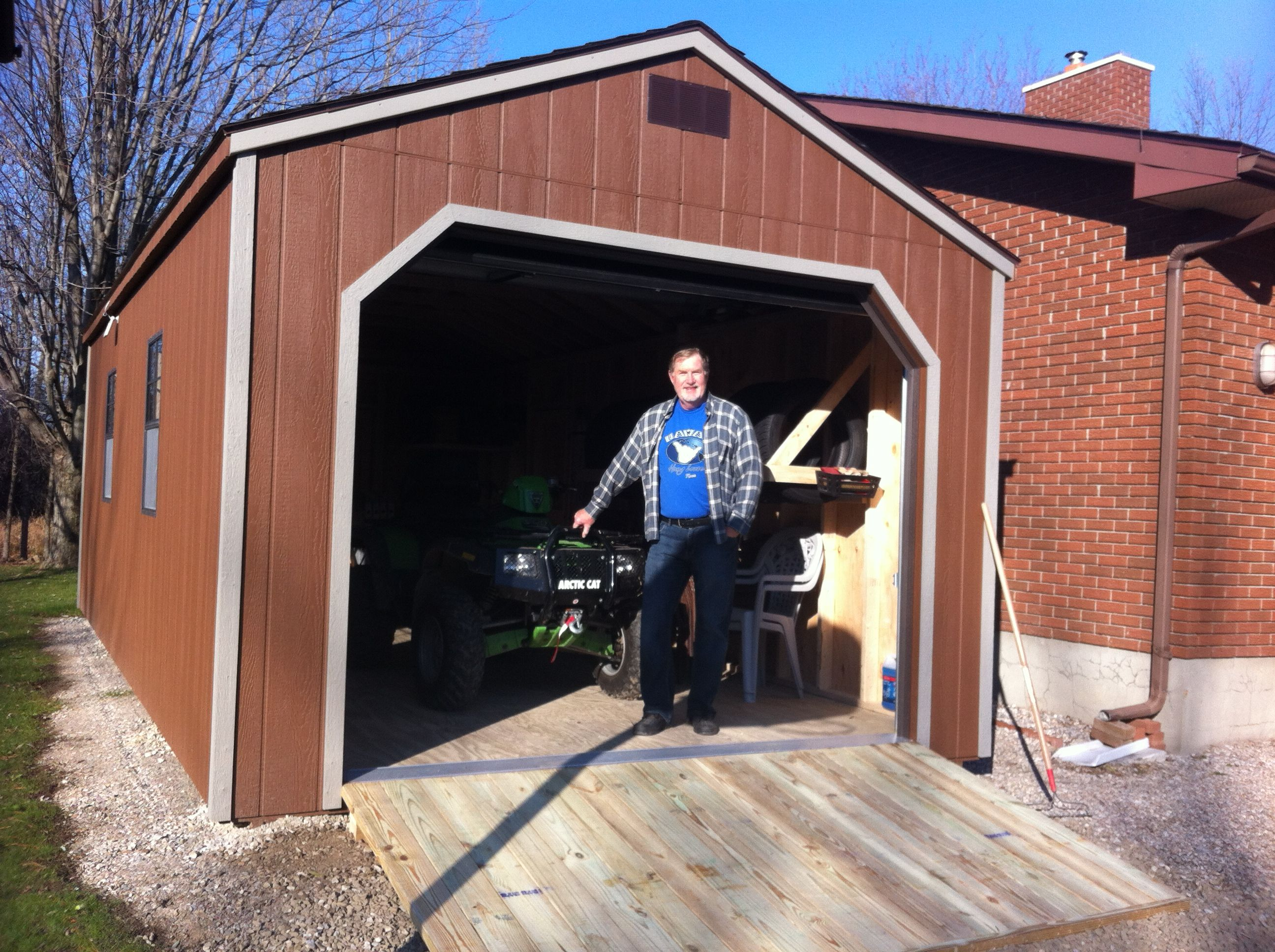 Portable Garage Sheds (With images) North country sheds