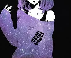 Resultado de imagem para anime girl galaxy