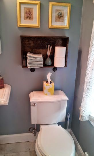 making a shelf from a wooden wine crate crayons and drywall diy rh pinterest com