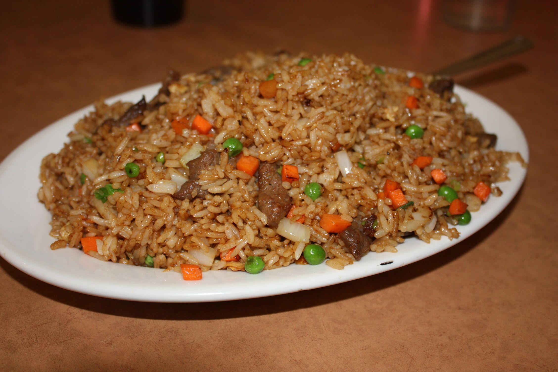 Beef fried rice Hakka Garden Beef recipes for dinner
