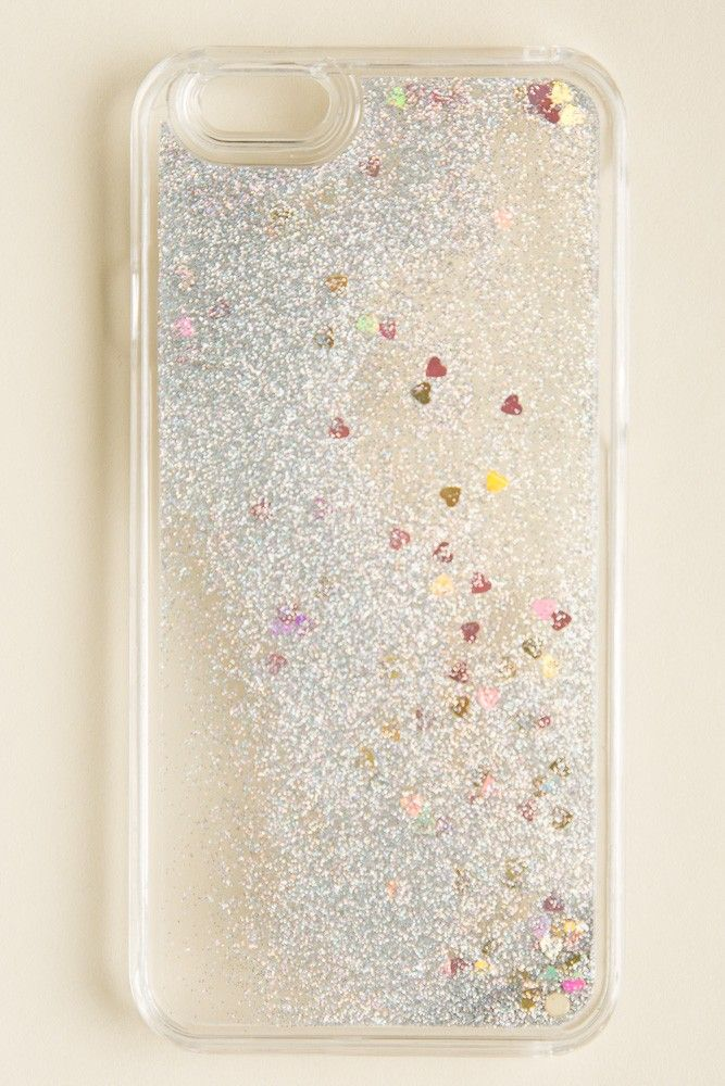 Brandy ♥ Melville | Glitter and Hearts iPhone 6 Case - Accessories