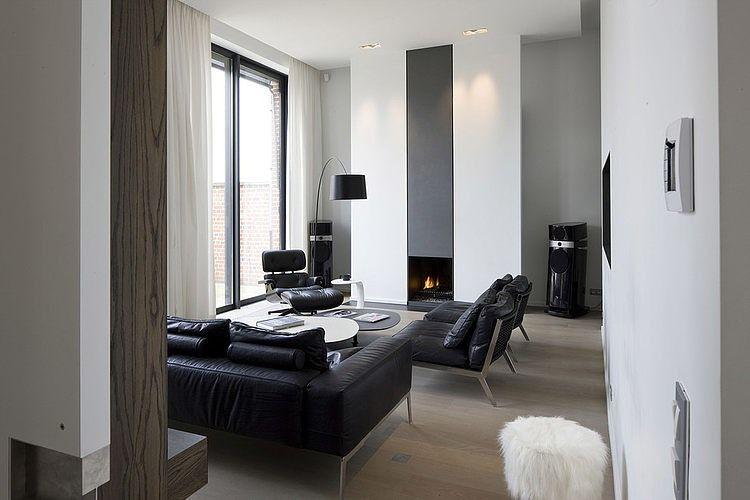 Modern Homeguillaume Da Silva  Interior  Pinterest  Modern Fascinating Contemporary Modern Living Room Inspiration Design