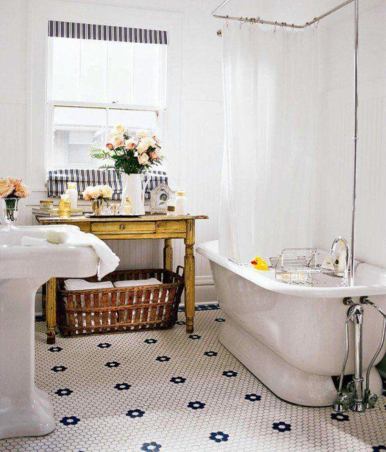 Salle de bain rétro idées comment la décorer