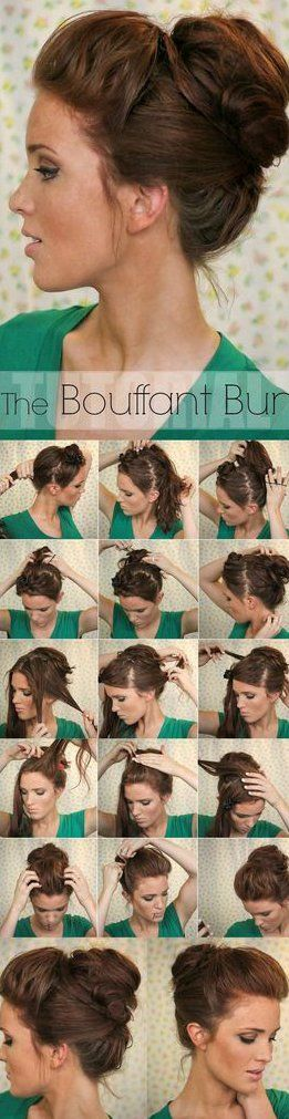 Bride Hairstyle Fashion Hairstyles Easy Updo Hairstyles Tutorials Hair Styles Updo Hairstyles Tutorials