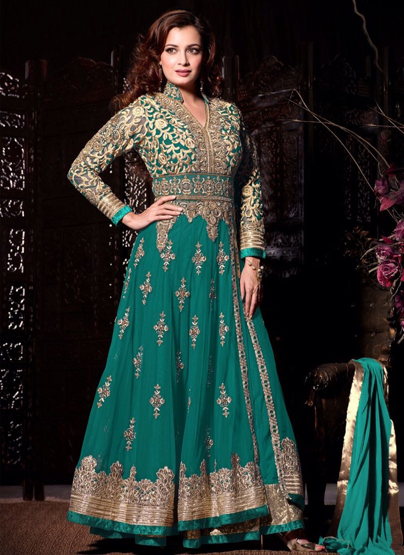 Raisin and Red Party Wear Anarkali Suit | Red party, Anarkali suits ...