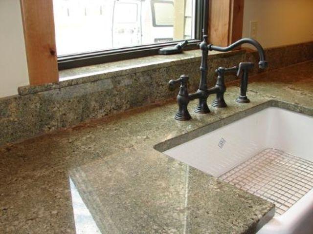 Seafoam Green Granite Kitchen Update Pinterest Countertops