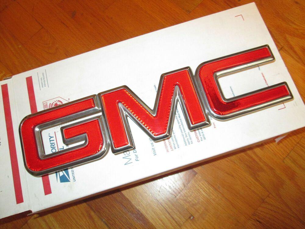 Sponsored Ebay Gmc Envoy Grille Emblem Letters Grill Gmc Envoy Others 2002 2009 Gmc Envoy Gmc Emblems