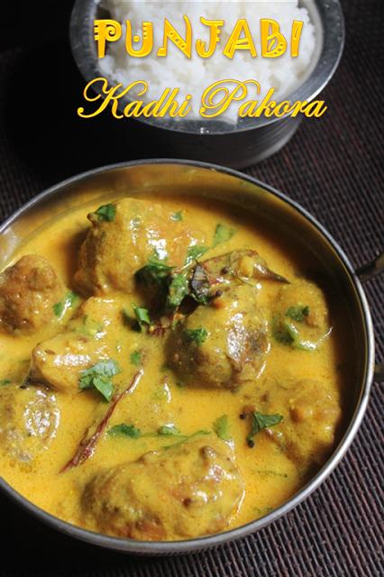 Punjabi kadhi pakora recipe kadhi pakoda recipe pakora recipes cuisine forumfinder Images