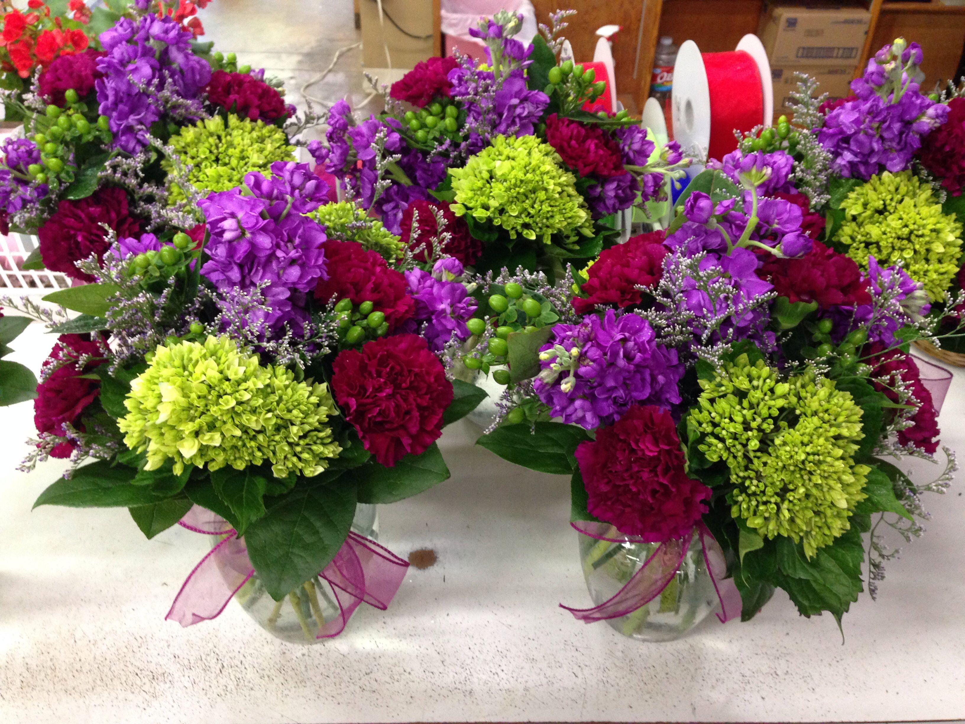 bouquet green hydrangea lavender stock blue delphinium wedding plum hydrangea hydrangea stock stock roses hydrangeas centerpiece jewel centerpieces flowers memphis tone green purple plum