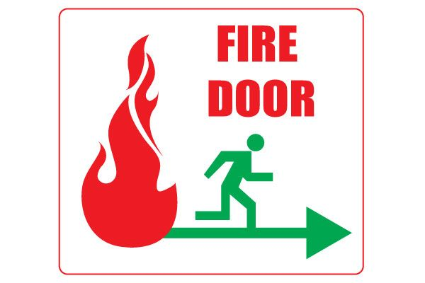 graphic about Printable Exit Signs identified as Printable Fireplace Doorway Signs or symptoms For Basic safety Totally free Obtain Totally free