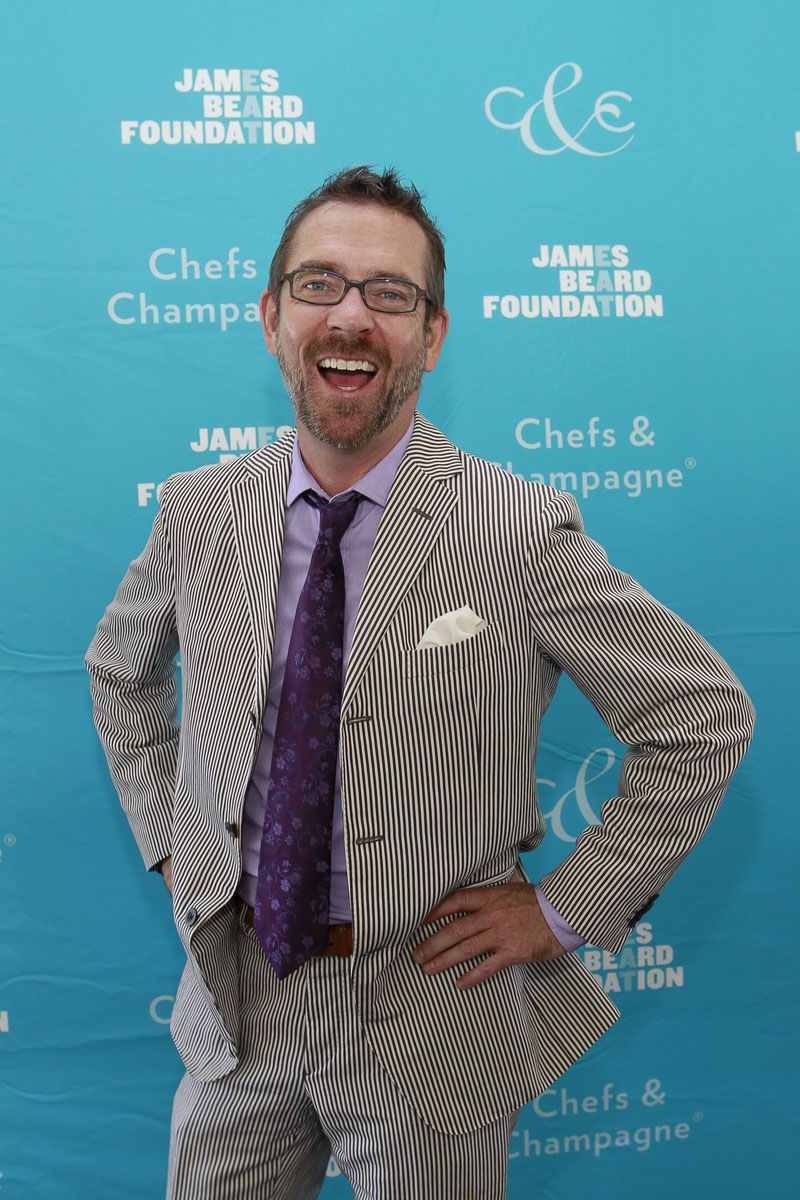 Chopped host Ted Allen (Photo by Mark Von Holden) | Foodie Soulmates ...