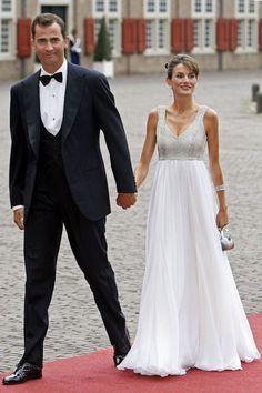 Le style de Letizia d\'Espagne en veste brodée Zara | Princess letizia