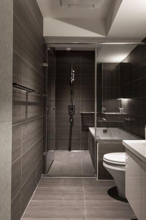 Aménagement alternatif SDB pour Bain + douche dans 1 \