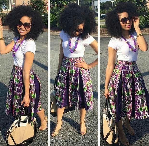 foil pleat skirt how to wear