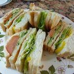 北浜レトロ - サンドイッチ絶品そして安い!