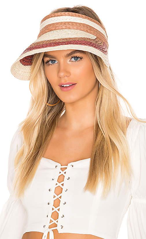 Hat Attack Summer Stripe Visor Affiliatelink Summer Stripes Fashion Women
