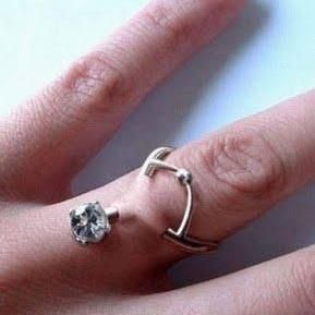 piercings... engagement ring!!!!!!! No