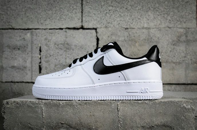1b444e824740 Authentic Nike Air Force 1 Low White Black 820266-101 2018 Nike Air Force 1  Sale