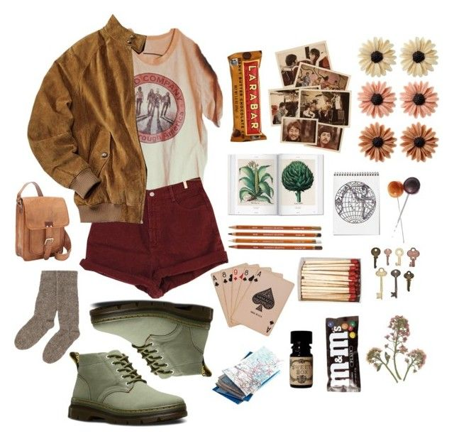 """""""Summer Camp"""" by allisontina5 ❤ liked on Polyvore featuring mae, Bongo, Dr. Martens, Advantus, People Tree and SHARO"""