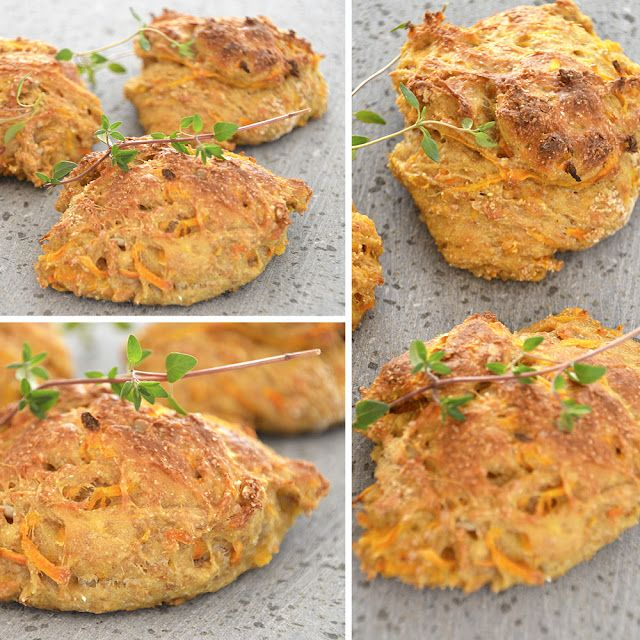 Twin Food: CARROT BUNS, perfect to go with a lunch box
