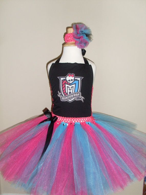 Monster High Tutu Dress My Baby Would So Wear It Monster High Tutu Monster High Monster High Birthday