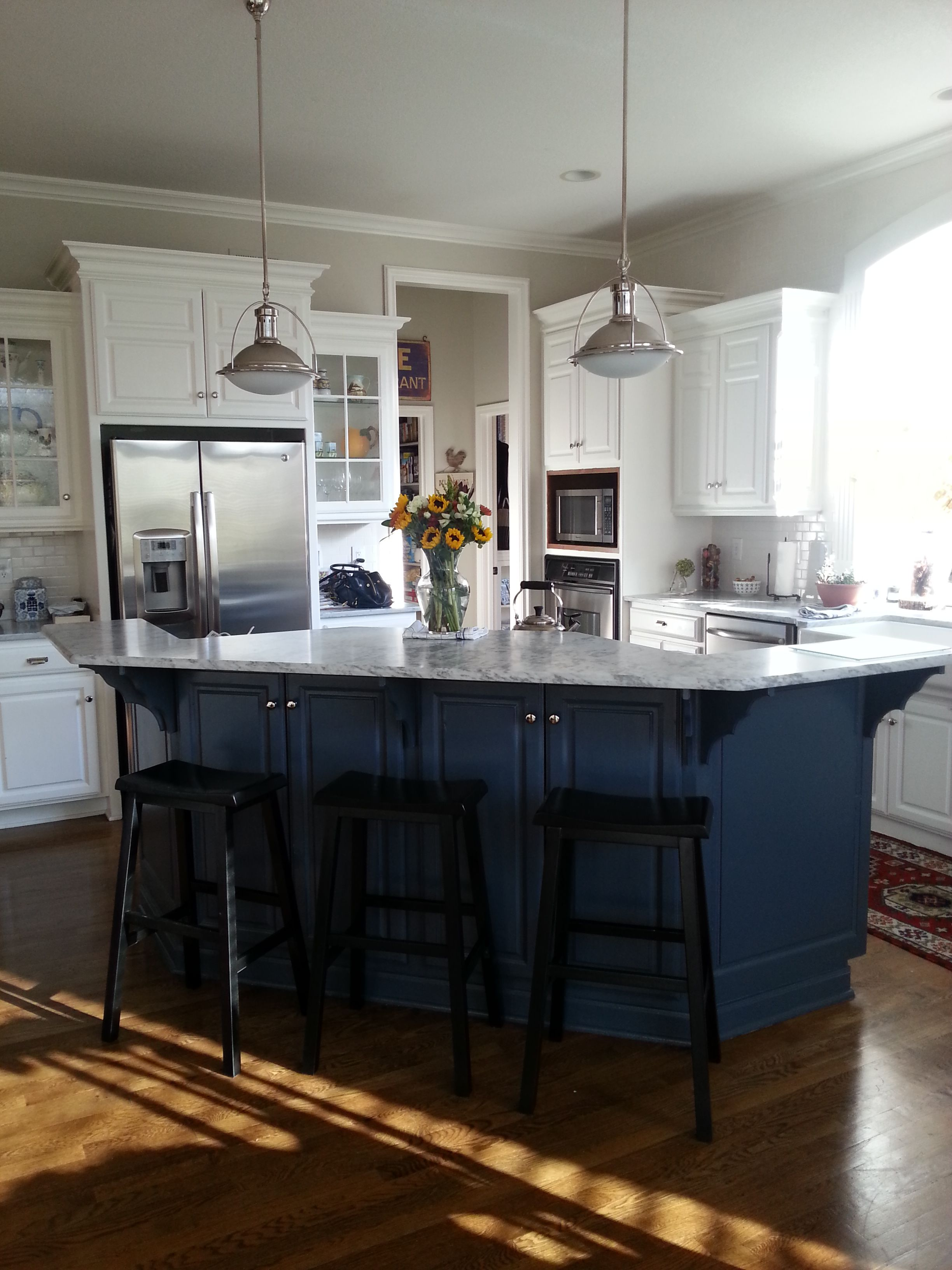 Best My Recently Remodeled Kitchen Cabinets Painted In 640 x 480