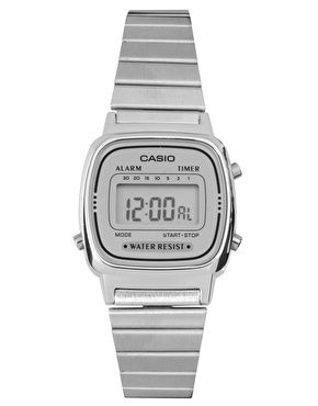 e0faff3aba9 Casio LA670WEA-7EF silver mini digital watch in 2019