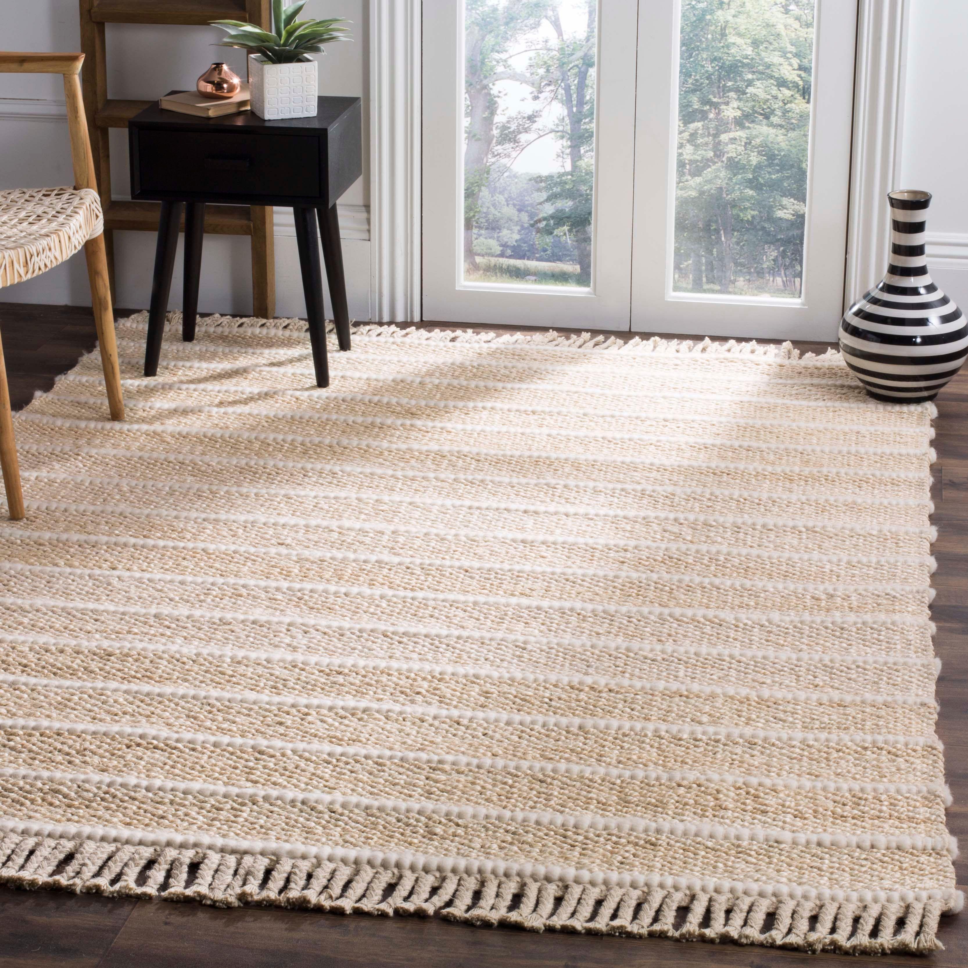 Safavieh Natural Fiber 5 X 8 Area Rug Ivory In 2021 Braided Area Rugs Jute Area Rugs Natural Fiber Rugs Natural fiber rugs that are soft
