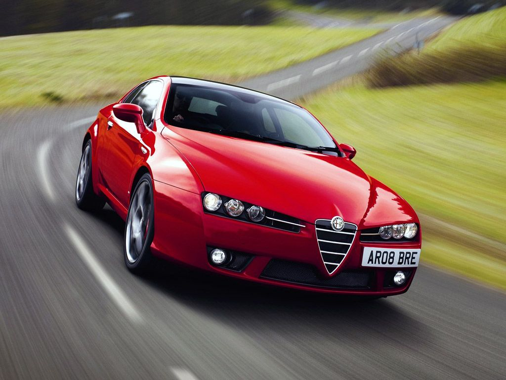 alfa romeo brera s Top 10 Most Beautiful Cars Ever Made In The World ...