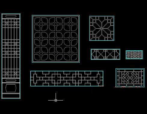 Ancient Windows Cad Block Free Autocad Drawing Cad Blocks