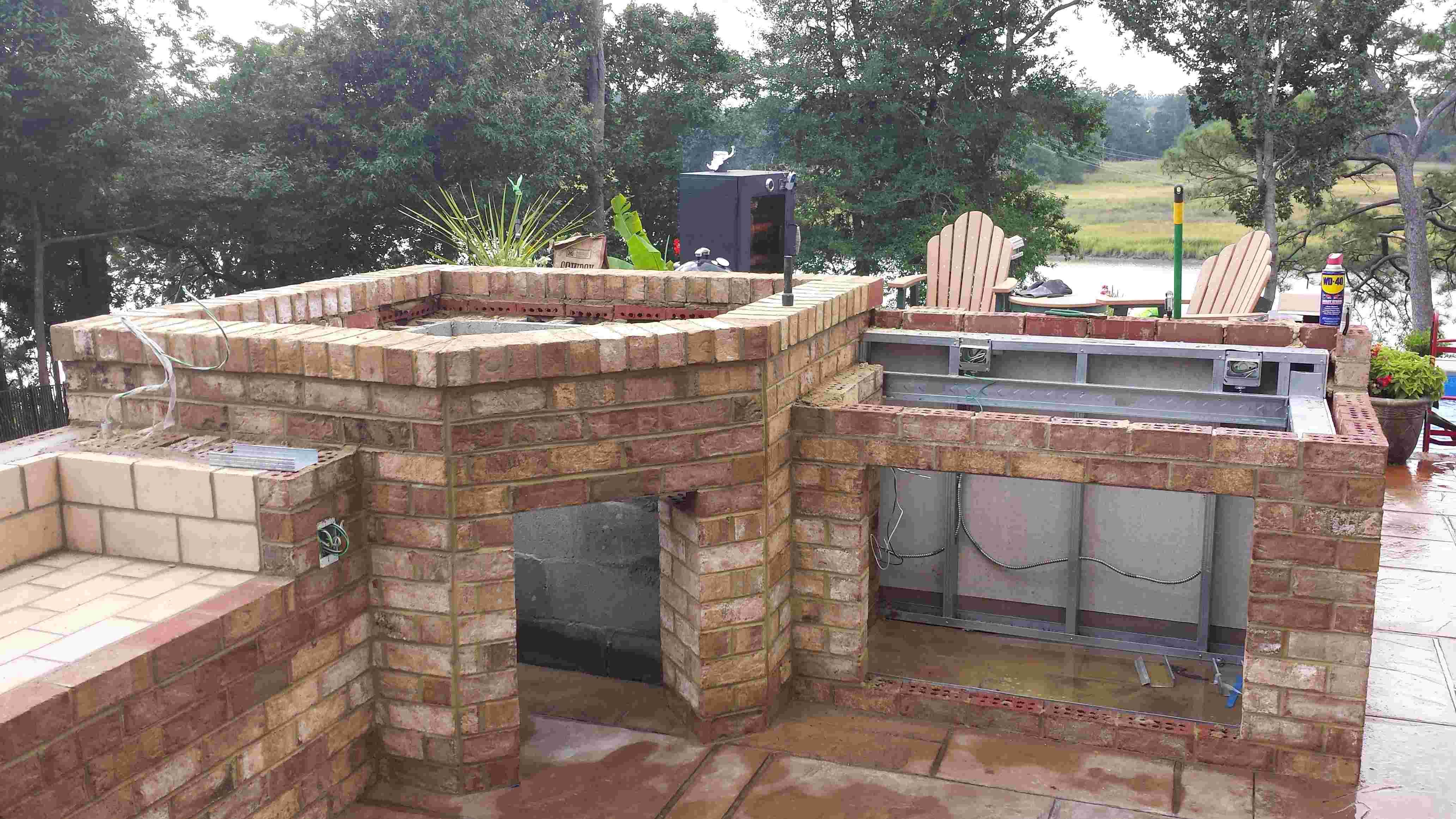 Outdoor Wood Fired Pizza Oven | Outdoor Kitchen With Wood Fired Pizza Oven  Project.