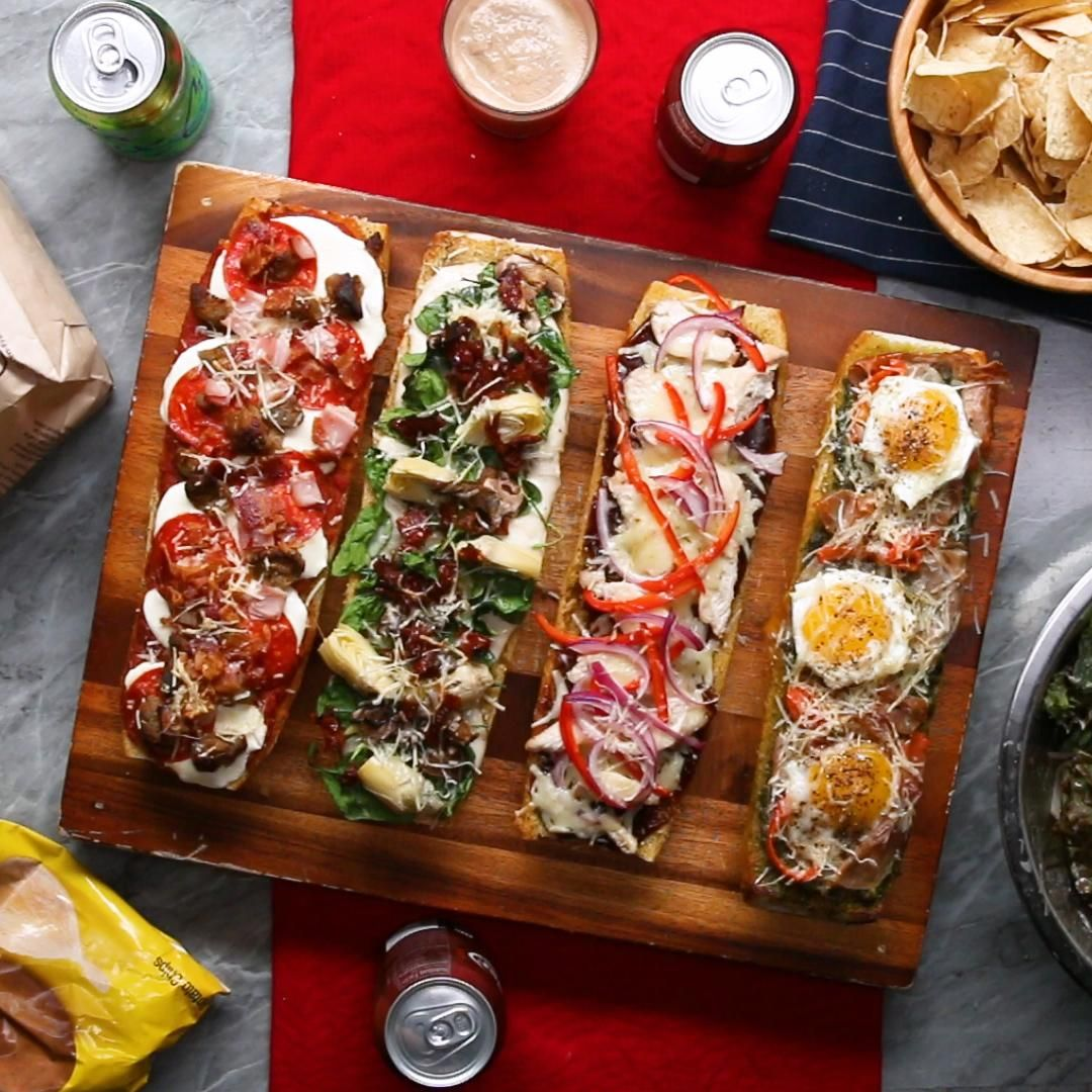 Photo of 30-Minute Pizza Party Boats Recipe by Tasty