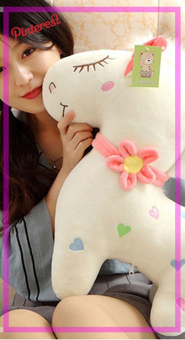 1 pc 30 cm pareja hermoso unicornio caballo de juguete de peluche ...