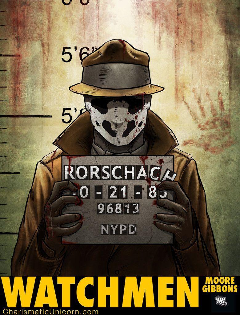 watchmen / rorschah / mr. manhattan / nite owl / comedian #watchmen  #dccomics #art #illustration #rorschah #mr. manhattan #nite owl #comedian  #poster ...