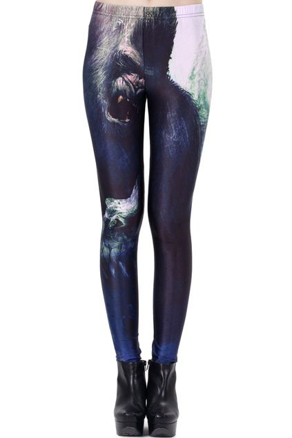 12 Pairs Of Leggings That Are So Awkwardly Funny | Top Stylish Tips