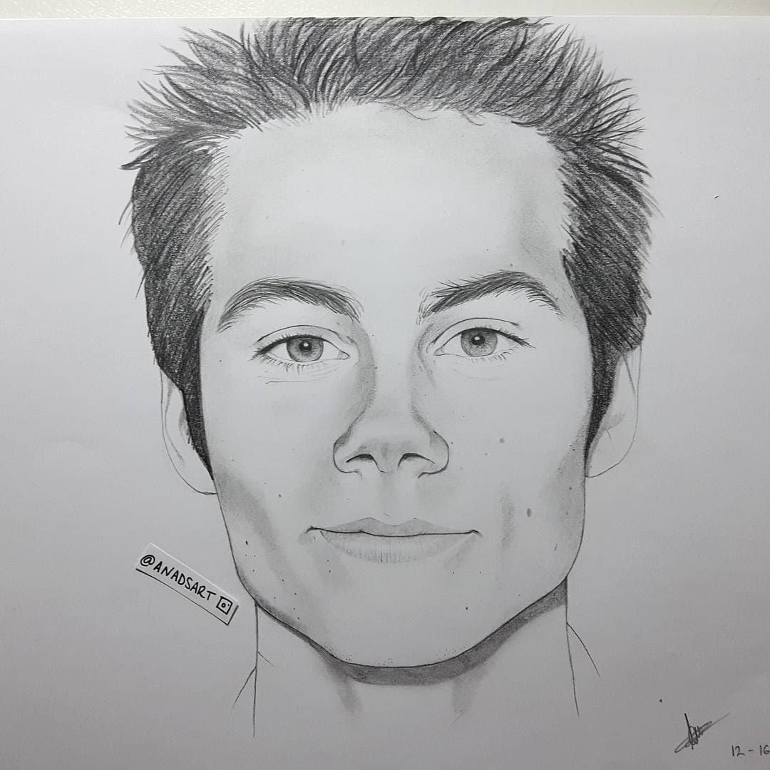 Resultado De Imagen Para Dibujos De Dylan Obrien Dibujos