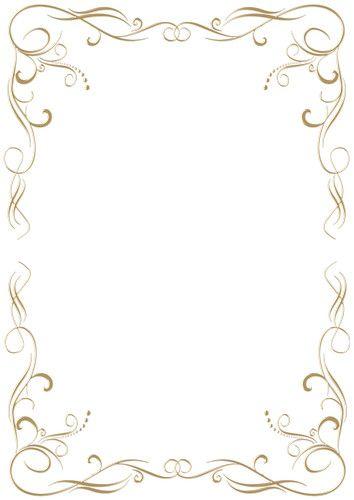 Papier A Lettre Ligne Set Of Metal Gold And Silver Png Frames With Jewels Png For Frame Border Design Wedding Borders Gold Border Design