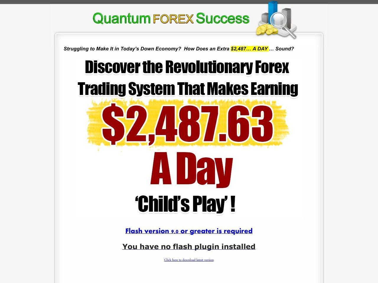 Quantum forex trade