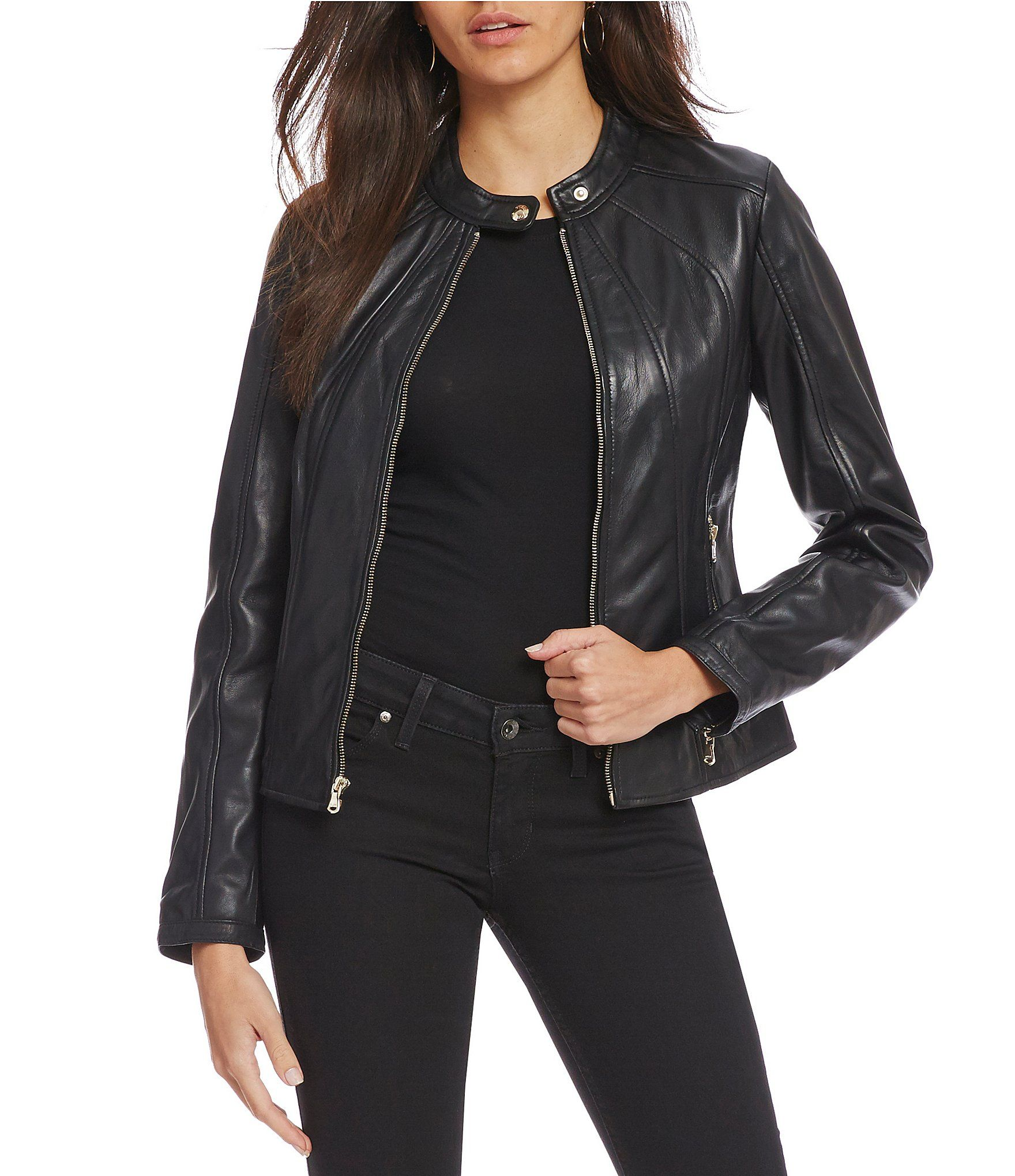 b9ca92c7e051 Shop for Guess Scuba Genuine Leather Jacket at Dillards.com. Visit  Dillards.com to find clothing