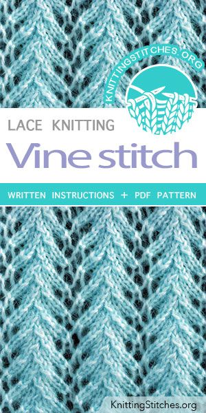 Vine Knitting Lace Knitting Patterns Lace Knitting Lace