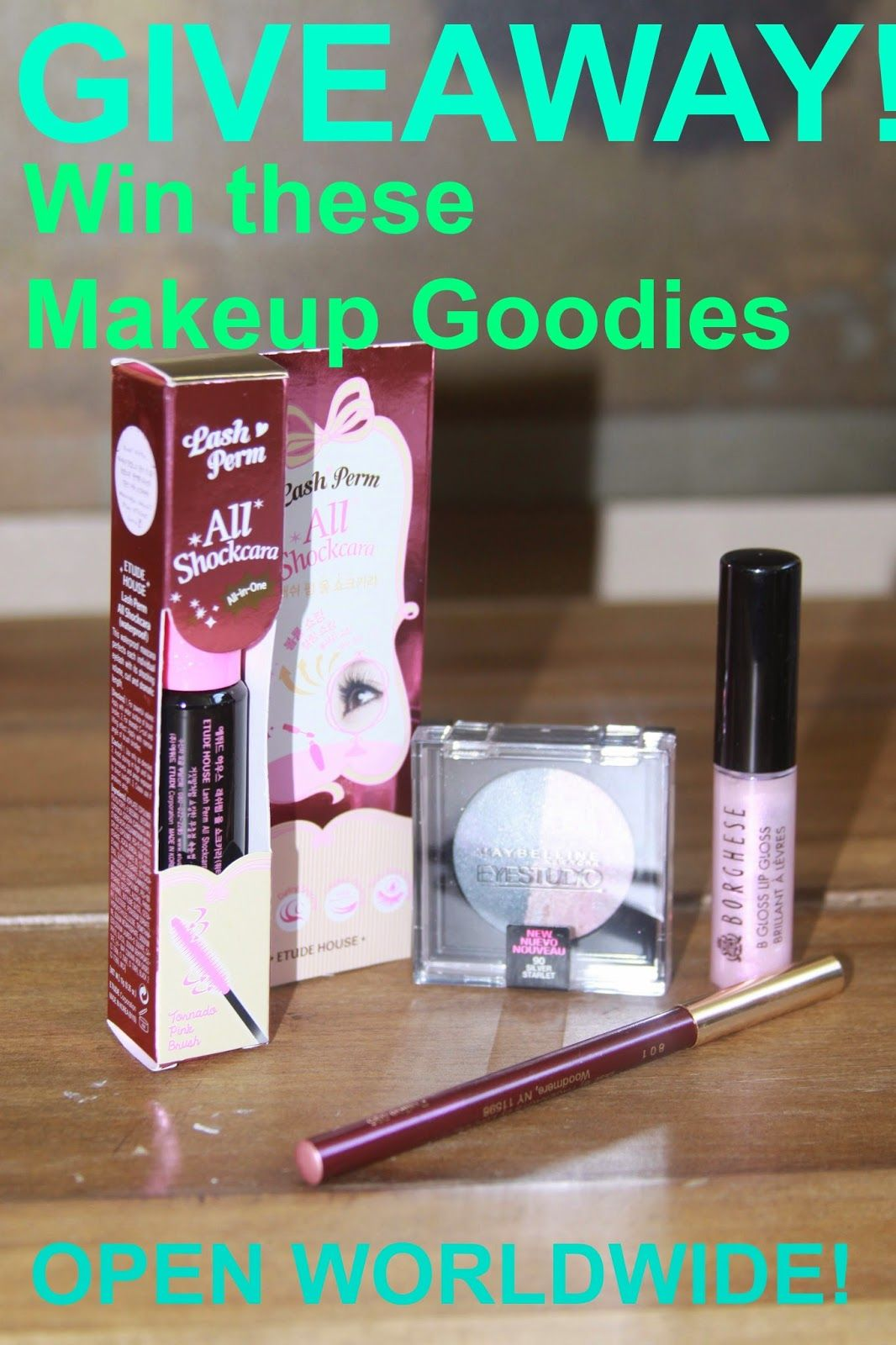 Open makeup giveaway sweepstakes