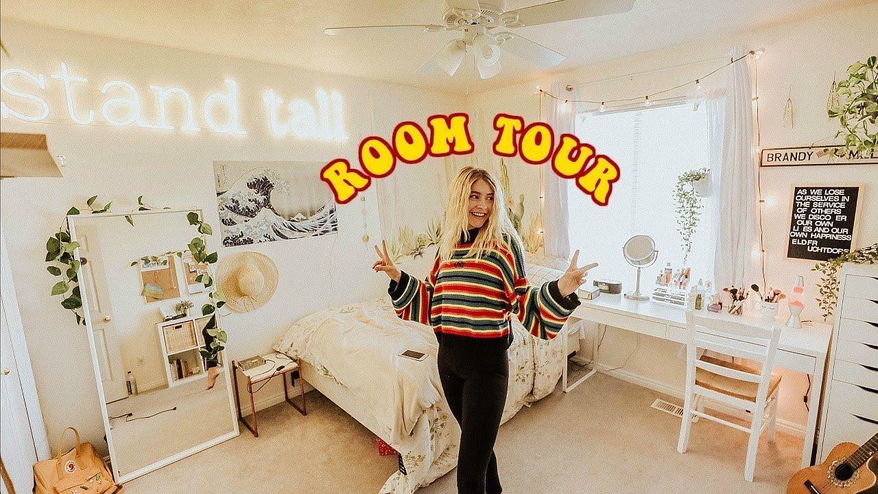 Room Tour 2018 Marla Catherine Youtube Retro Room Room Tour