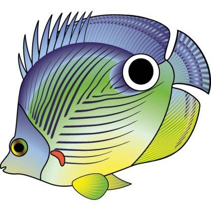 cute_cartoon_fish_vector_566566.jpg (425×425)