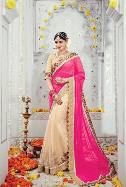 b2c314ae06 ... Indian Designer Saree At Best Price By Uttamvastra - Online Shopping  For Women. PALLU: Lycra net SKIRT: Sparkle net BLOUSE: Spain Cotton WORK:  Jari, ...