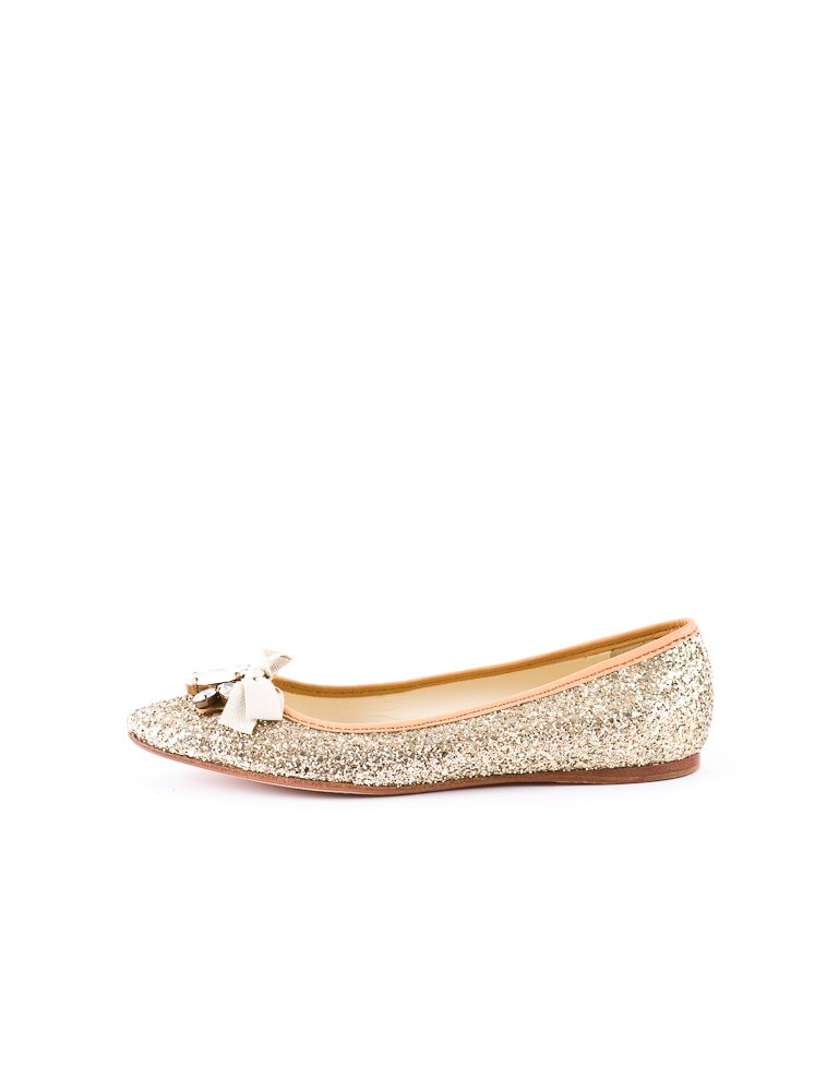 Miu miu Pointed-Toe Flats :}} and they`re glittery!!!