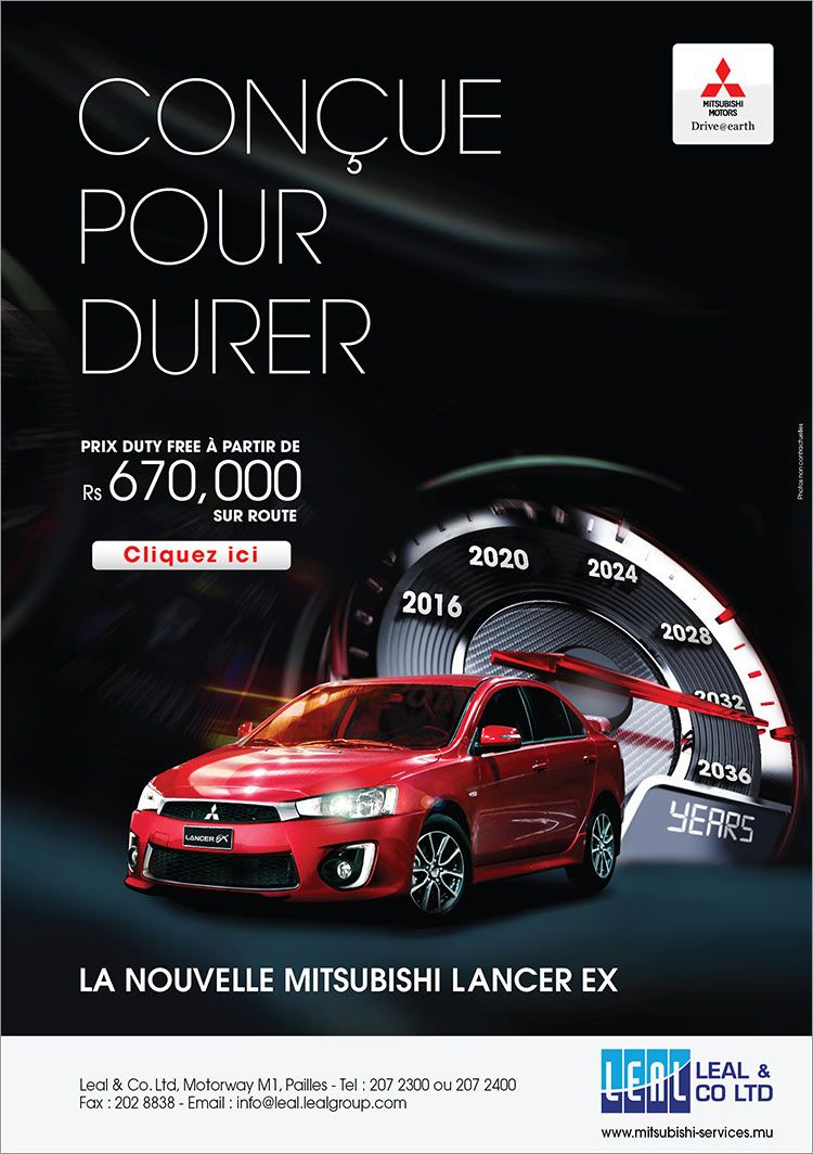 Leal Co Ltd New Mitsubishi Lancer Ex As From Rs 670 000 On Road Tel 207 23 Anuncios Criativos Auto Publicidade