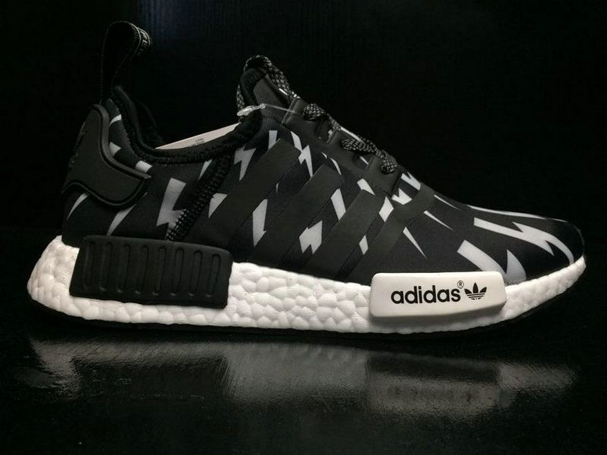 bcf2f1bc212e Neil Barrett X Adidas NMD R1 Boost Black White Ba7561 Popular Shoe ...