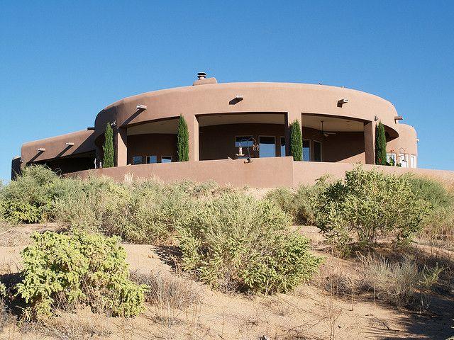 New Mexico Adobe House Adobe House Earth Homes Southwest House