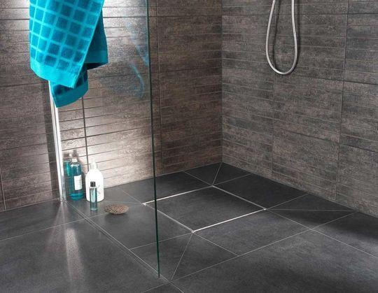 Receveur De Douche Extra Plat Modèles Tendance Receveur De - Modele salle de bain italienne